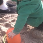 What's a sand castle, Daddy?